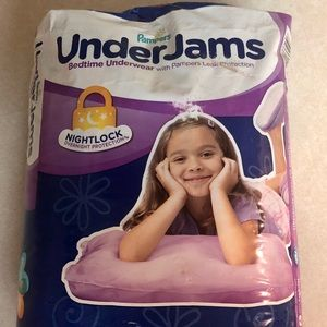 Pampers UnderJams Night Wear Underwear Girls S/M
